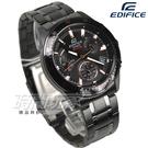 EDIFICE EFV-540DC-1B 計時碼錶 帥氣風立體時刻賽車男錶 防水手錶 IP黑x金 EFV-540DC-1B CASIO卡西歐