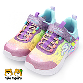 SKECHERS S LIGHTS 燈鞋 炫彩燈鞋 中大童 迷幻 獨角獸 R7147(302311LPRMT)