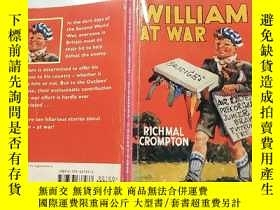 二手書博民逛書店william罕見at war rich mal Crompton:威廉在戰爭時期富有的曾經是克朗普頓Y200