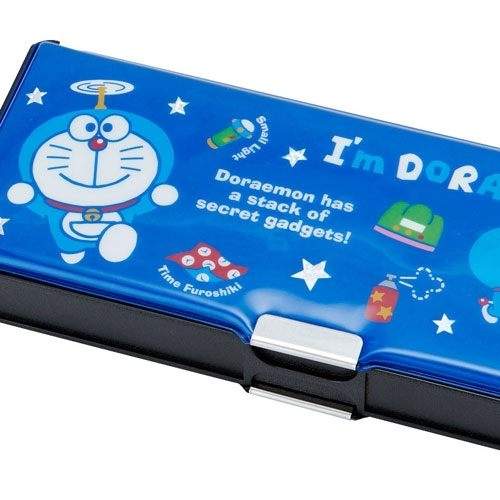 【震撼精品百貨】Doraemon_哆啦A夢~哆啦A夢輕量雙面鉛筆盒(道具)#44514