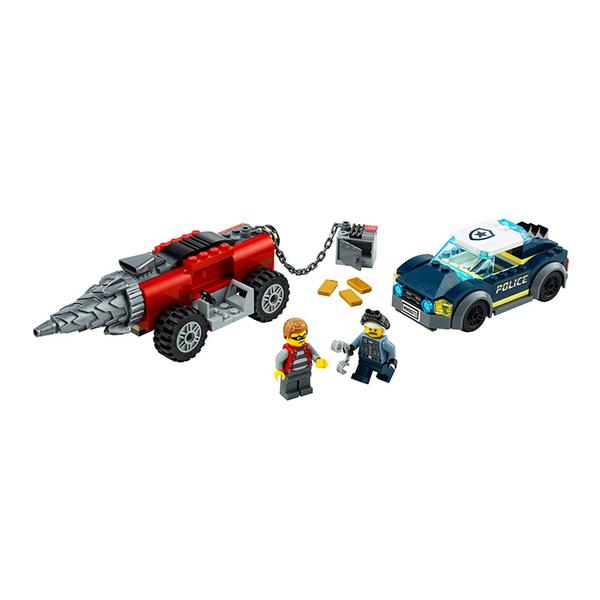LEGO樂高 City 城市系列 特警鑽機追逐戰_LG60273