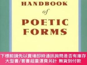 二手書博民逛書店The罕見Teachers And Writers Handbook Of Poetic FormsY2551