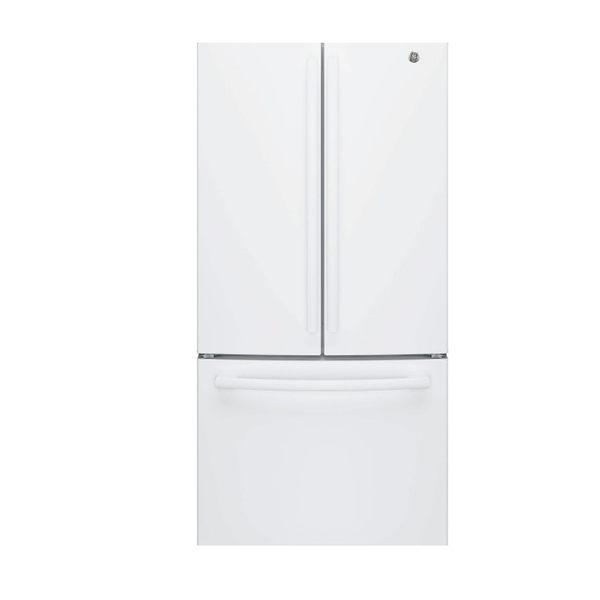 奇異 GE 715公升白色法式三門冰箱 GNE25JGWW