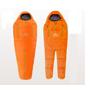 【PUSH!戶外登山用品】人型睡袋四季空調被(一入橙色)P89