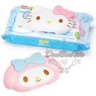 KITTY美樂蒂濕紙巾防塵蓋環保盒蓋大臉造型凱482500美482517通販屋