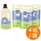 【箱購】小鹿山丘 - 嬰幼兒低敏抑菌洗衣精 4瓶+12補充包
