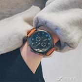 戶外手錶 手錶男抖音同款學生潮流韓范簡約個性大錶盤特種兵戶外運動軍 米蘭潮鞋館