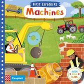 First Explorers:Machines 小小探險家:機器篇 推拉硬頁書