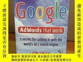 二手書博民逛書店Google罕見Adwords That Work (52 Brilliant Ideas)Y269331 J