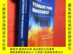二手書博民逛書店Handbook罕見of Veterinary Pain Man