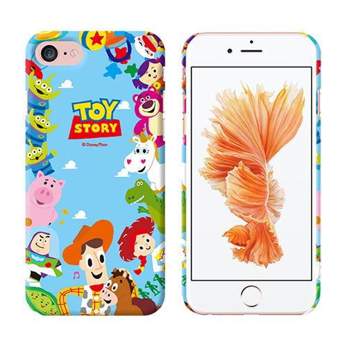 Toy Story 迪士尼 玩具總動員 環形花紋 硬殼 手機殼│iPhone 5S SE 6 6S 7 8 Plus 2020 X XS MAX XR 11 Pro│z9225