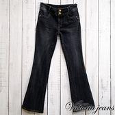 【Victoria】Victoria中高腰靴型褲(深藍)_牛仔褲3折up