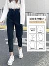 哈倫牛仔褲女寬鬆高腰2021年春夏新款韓版修身顯瘦直筒老爹女褲子 黛尼時尚精品