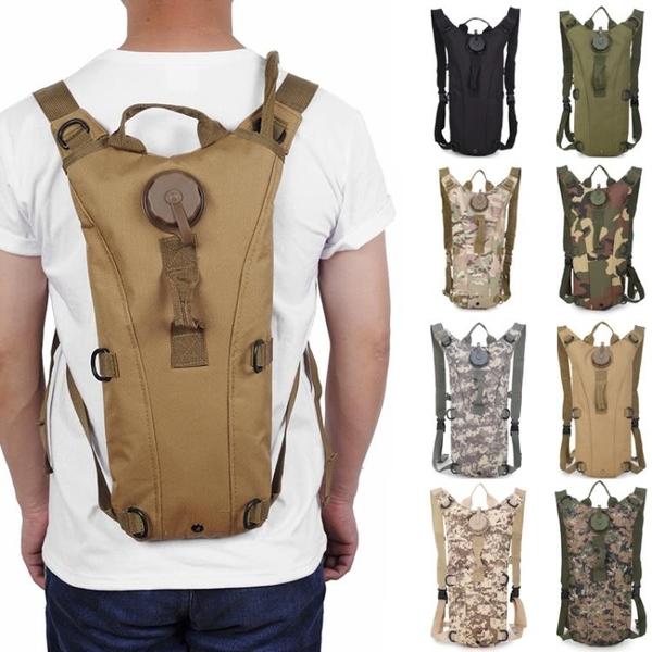 飲水袋戶外便攜騎行跑步徒步水袋大容量戰術水袋背包負重訓練水袋 格蘭小鋪