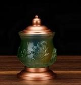 純銅供具古法琉璃套裝供燈供杯供盤鮮花供瓶香爐供佛家用供奉擺件 單個