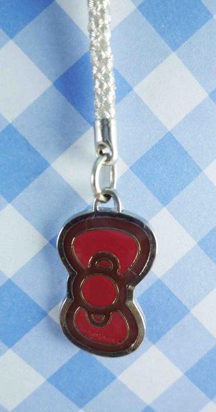 【震撼精品百貨】Hello Kitty 凱蒂貓~KITTY手機提帶-紅蝴蝶結