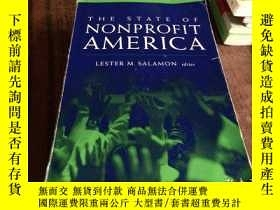 二手書博民逛書店State罕見of Nonprofit America, Pap