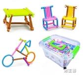 拼圖幼兒園兒童益智拼圖3-7歲玩具男孩女孩創意智力拼插積木棒4-6周歲 快速出貨