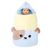 店長推薦 初生嬰兒防驚跳新生兒抱被睡袋兩用秋冬寶寶包被春秋款加厚防踢被