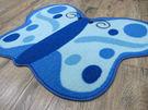 范登伯格-埃及蝴蝶造型踏墊/地毯-57x...