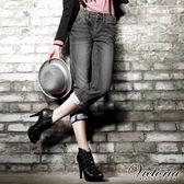 Victoria 豹紋繡B.F褲-女-黑