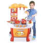 Amuzinc酷比樂 家家酒系列玩具 聲光觸控廚房組(紅色) 008-801A