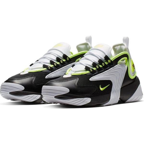 【現貨】NIKE Zoom 2K 男鞋 慢跑 休閒 老爹鞋 襪套 氣墊 避震 復古 黑 綠【運動世界】AO0269-004