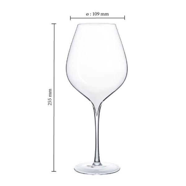 【法國利曼Lehmann series】 米其林三星手工杯系列 / 紅酒杯750ml (2入)