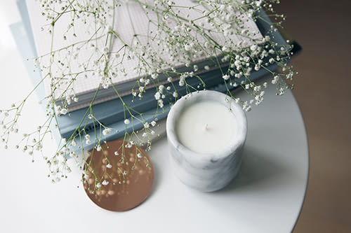 Boxtory 大理石蠟燭