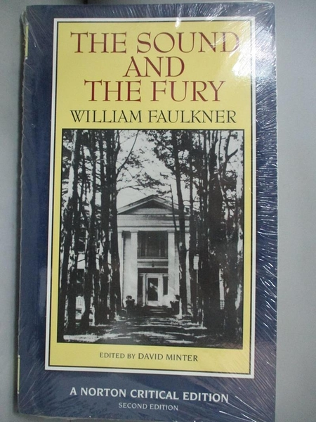 【書寶二手書T1/原文小說_INS】The sound and the fury : an authoritative…_Faulkner, William