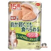 【寵物王國】COMBO PRESENT Mio泥饌15歲高齡貓餐包(慕斯雞肉)口味40g