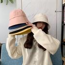 漂亮小媽咪 韓系 純棉 漁夫帽【BW5001】 純色 斜紋布 遮陽帽 女性 成人 防曬 桶帽 漁夫帽 []