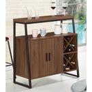 【森可家居】伯恩斯3.3尺酒吧型餐櫃 8CM912-3 吧台桌櫃 收納廚房櫃  碗盤碟櫃 木紋質感 北歐風