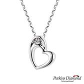 鑽石項鍊 PERKINS 伯金仕 Heart系列0.03克拉項墜