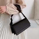 網紅小包包質感斜背女包新款2020秋冬潮時尚百搭單肩腋下包小方包 寶貝計畫