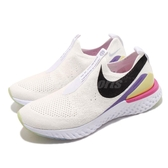 Nike 慢跑鞋 Wmns Epic Phantom React FK JDI 白 黑 女鞋 運動鞋 【PUMP306】 CI1290-100