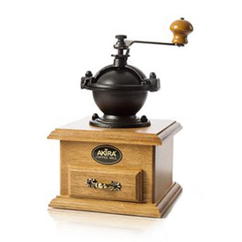 金時代書香咖啡 AKIRA 手搖磨豆機 復古造型 A-4 (是否有貨請詢問LINE@客服人員)