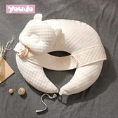 哺乳枕頭多功能喂奶神器懶人護腰寶寶坐月子橫抱娃椅墊嬰兒防吐奶 貝芙莉