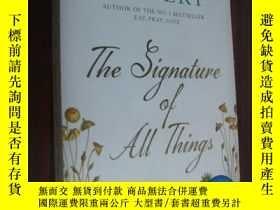 二手書博民逛書店英文原版罕見The Signature of All Thing