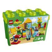 LEGO 樂高 Duplo 得寶系列 10864 大遊樂場顆粒盒 【鯊玩具Toy Shark】