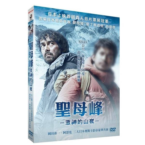 【停看聽音響唱片】【DVD】聖母峰:眾神的山嶺超值雙碟版