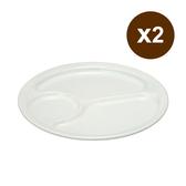 日本野田琺瑯 餐盤(24cm) 2入組