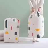 束口袋 抽繩袋 棉被袋 收納袋 收納桶 整理袋 大 換季收納 花漾 圓筒收納袋【L028】生活家精品
