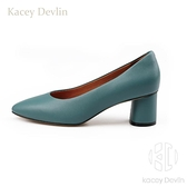 粗跟職場單鞋經典通勤休閒舒適女鞋【Kacey Devlin 】