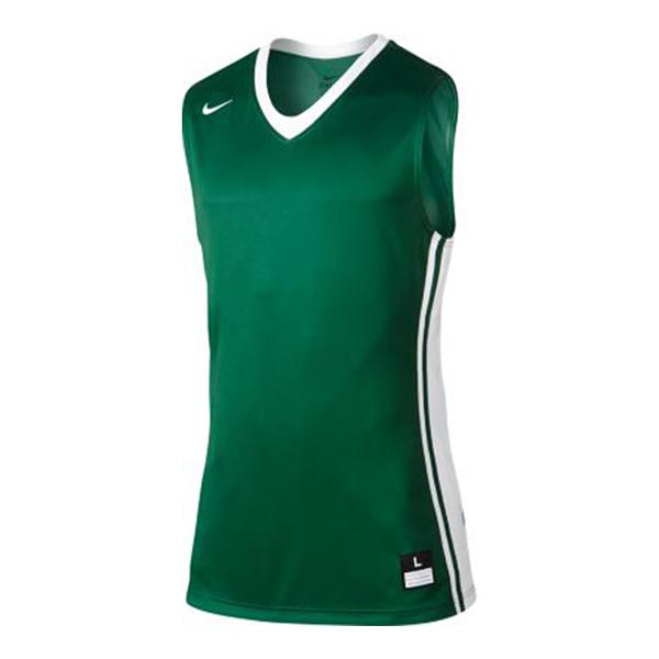 Nike National Varsity Stock [639395-342] 男 籃球 背心 快乾 單面 球衣 綠