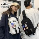 情侶胸包 簡約素面個性側背包斜背包【NQA5230】
