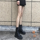 漁網襪女JK黑絲襪超薄款性感連褲襪子蕾絲情趣辣妹【橘社小鎮】