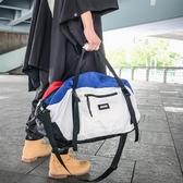 網紅健身包男運動包瑜伽手提短途旅行包女潮牌行李包大容量行李袋 - 風尚3C