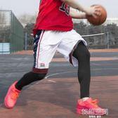 籃球絲襪護腿褲襪加長護小腿專業運動護膝裝備襪套男跑步長款防曬   韓語空間
