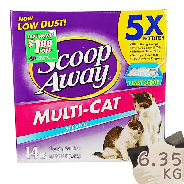【SCOOP AWAY】超凝結貓砂 超抗臭 純淨礦砂 貓砂、礦砂、凝結 美國原裝進口